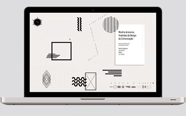Website D.E.S.I.G.N . F.B.A.U.L.13 by David Proença, via Behance