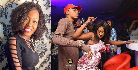 Jealous boyfriend removes the wig of his girlfriend at a party because other guys were checking her out