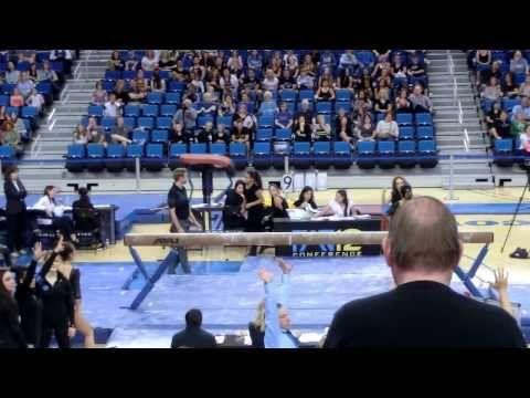 UCLA Gymnastics Danusia Francis Perfect 10 Beam – YouTube