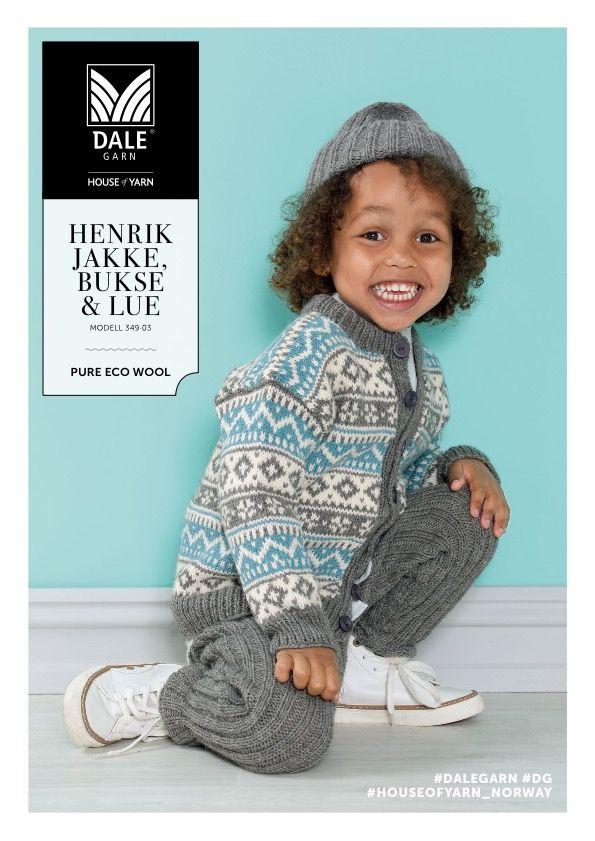 DSA349-03 Henrik jakke, bukse & lue