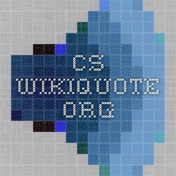 cs.wikiquote.org
