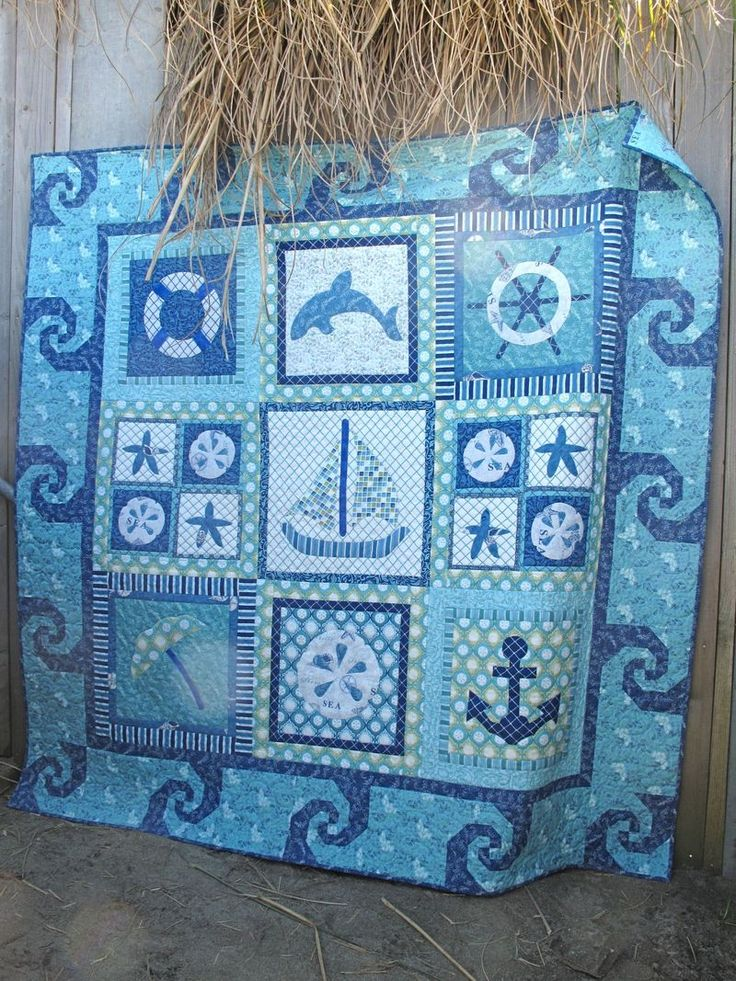 Snail S Tails As A Border For Beach Quilt Quilting And