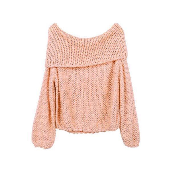 Cowl Neck Sweater Peach ($31) ❤ liked on Polyvore featuring tops, sweaters, jumper, shirts, red cowl neck sweater, evening tops, red top, holiday shirts and red cowl neck top