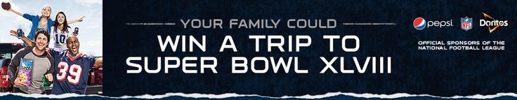Family Dollar Football Sweepstakes - Win A Trip To SUPER BOWL XLVIII (Enter Daly; Ends September 28, 2013) https://www.pepsifallfootball.com/familydollar/Home