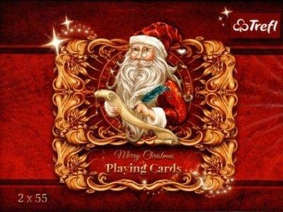 Świąteczne karty do gry - praca zbiorowa