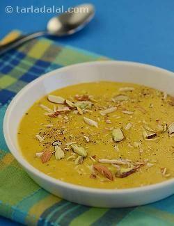 Jhat-pat Halwa recipe | Indian Recipes | by Tarla Dalal | Tarladalal.com | #veganize