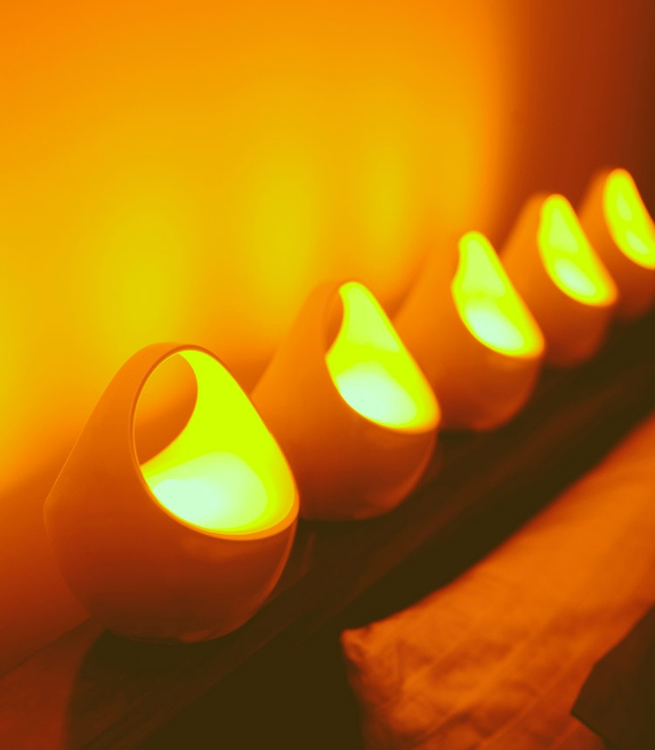 relaxing lighting. the philips intimate led candles creates an ambience for love relaxing lighting
