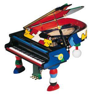 Schimmel Pianos: Instruments > Schimmel Konzert > Konzert Grands > Art Collection > K 213 Otmar Alt
