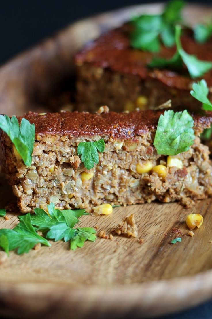 Oat-Free Spicy Barbecue Lentil Loaf *** great flavor, still a mush loaf at 65 min.  Either increase bake time or temp.  Takes hours to make***