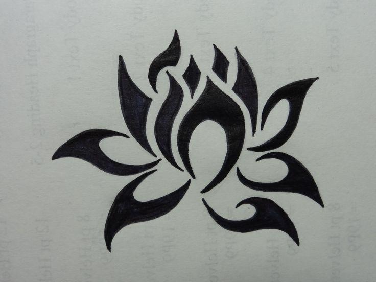 Simple Lotus Design | Simple Drawings Of Lotus Flowers Lotus flower