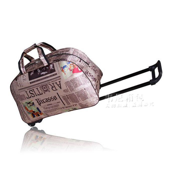 Podręczna torba podróżna z wygodnymi kółkami ● Bezpieczny Import z Chin ● 36.pl