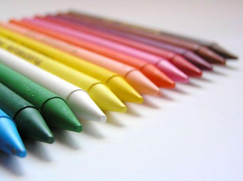 Recicla los colores cera de tus pequeños 1