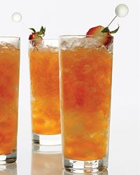 Strawberry-lemon mojitos. http://www.foodandwine.com/recipes/strawberry-lemon-mojitos-cocktails-2009