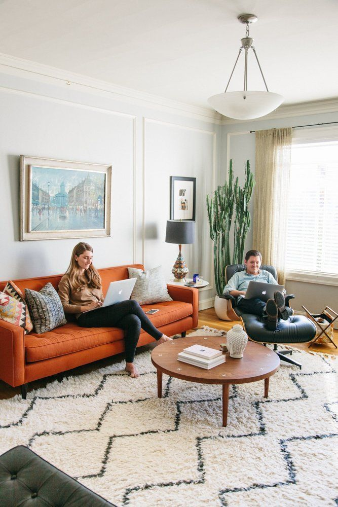 Sara Rich S Colorful Calm Sunny California Haven In 2019 House Tours From Apartment Therapy Pinterest Living Room And