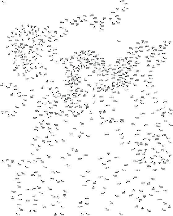 extreme dot to dot printable - Google Search