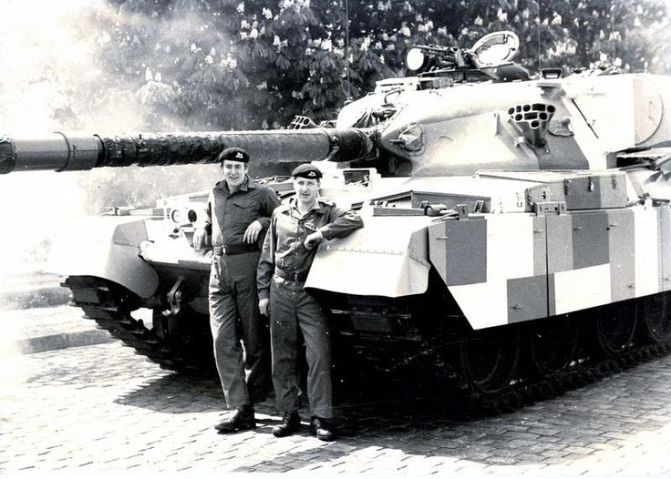 Chieftain tank of the Queen's Own Hussars, Berlin, 1984.