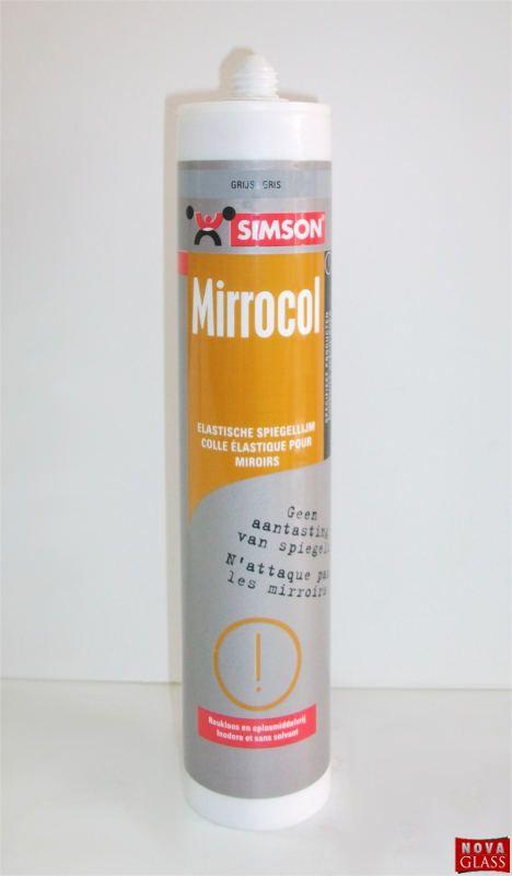 Κόλλα Καθρεπτών Γκρι χρώματος 290ml της Simson