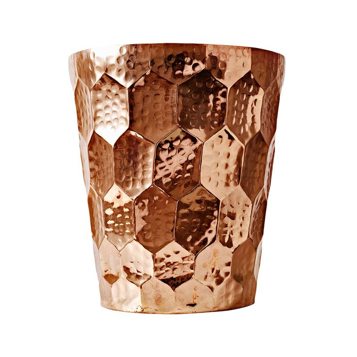 Buy Tom Dixon Hex Champagne Bucket - Copper | Amara