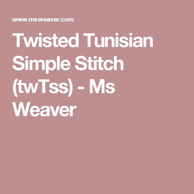 66 besten Tunisian Crochet Bilder auf Pinterest | Tunesisch häkeln ...