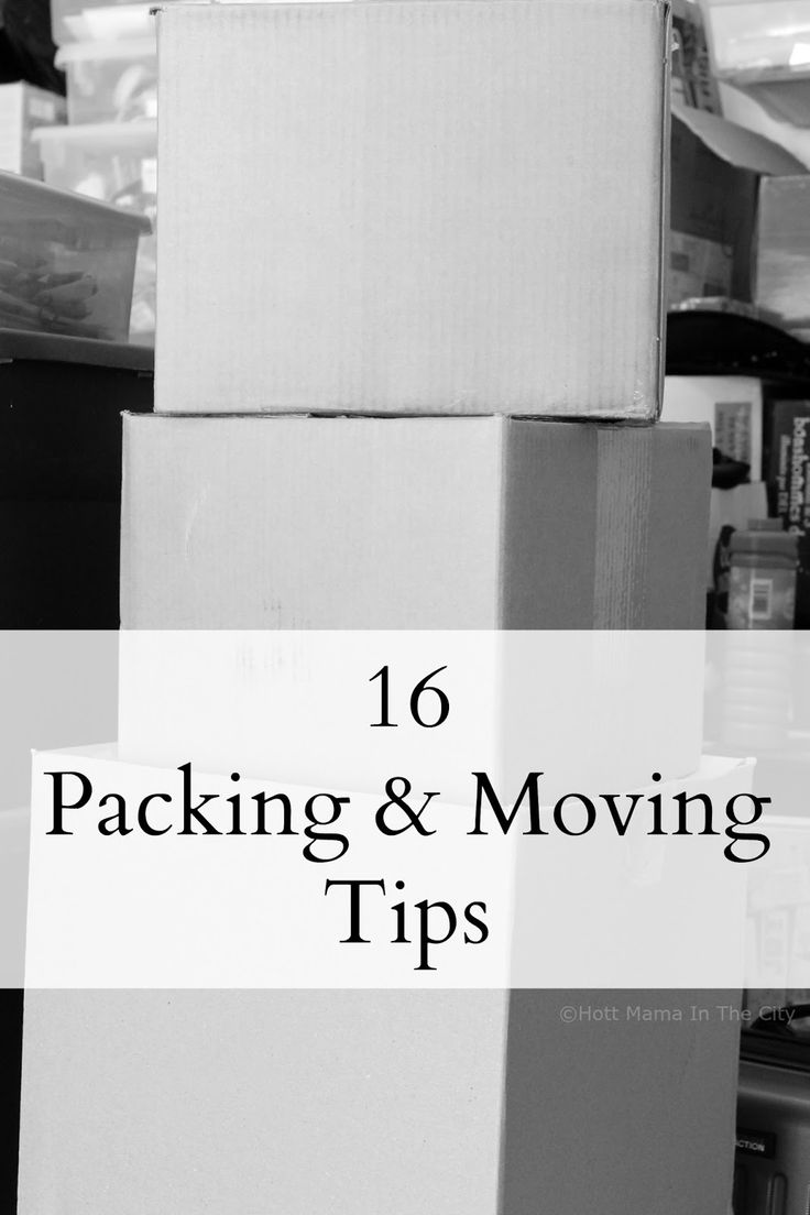 16 Moving & Packing Tips  #SYWMoving #ad