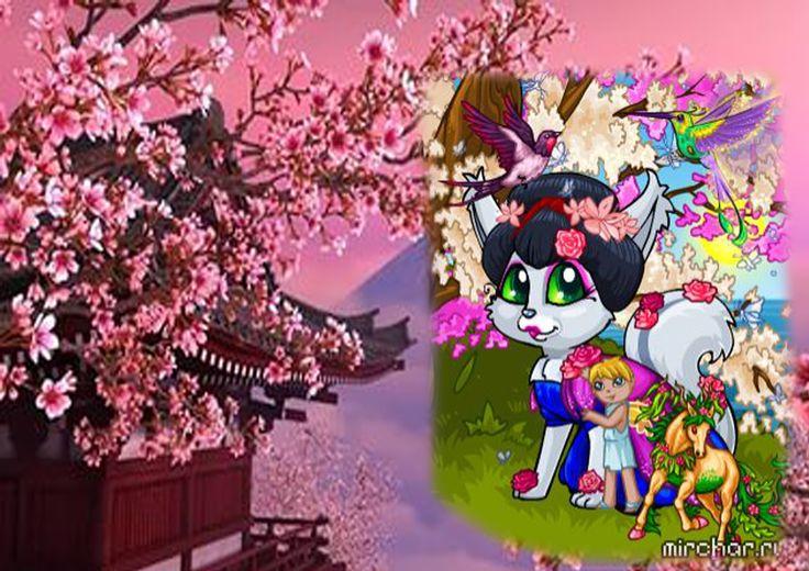 Япония- Шикарное цветение персика...сакуры... этот аромат непередаваем! А как красиво прогуляться по цветущим аллеям...