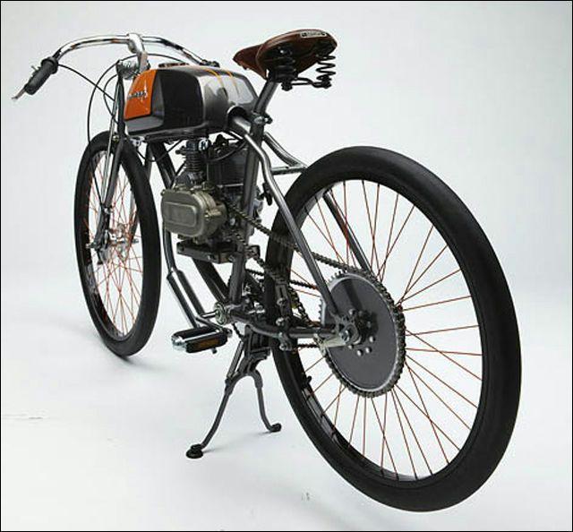 モペッド復活の日は近い、エコ時代のエンジン付き自転車「Derringer Cycle」 - DNA