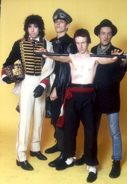 punk-culture: The Clash by Andre Csillag, 1978.