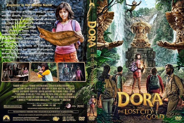 Dora And The Lost City Of Gold Dvd Cover Dvd Covers Lost City Of Gold Dvd Cover Design