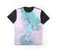New York City - Statue Of Liberty  Graphic T-Shirt