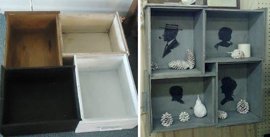 nicho de gavetas