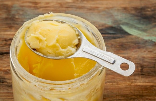 Making Ghee Butter For Long Term Storage