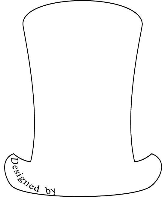 dr suess hat template