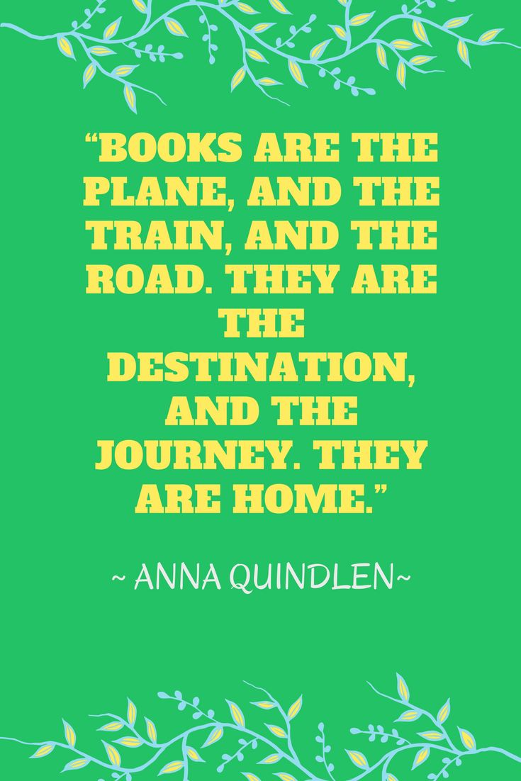 Thank you, Anna Quindlen!