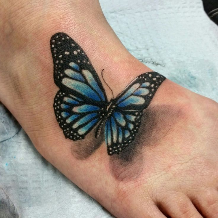 22 Best Images About 3D Butterfly Tattoos On Pinterest