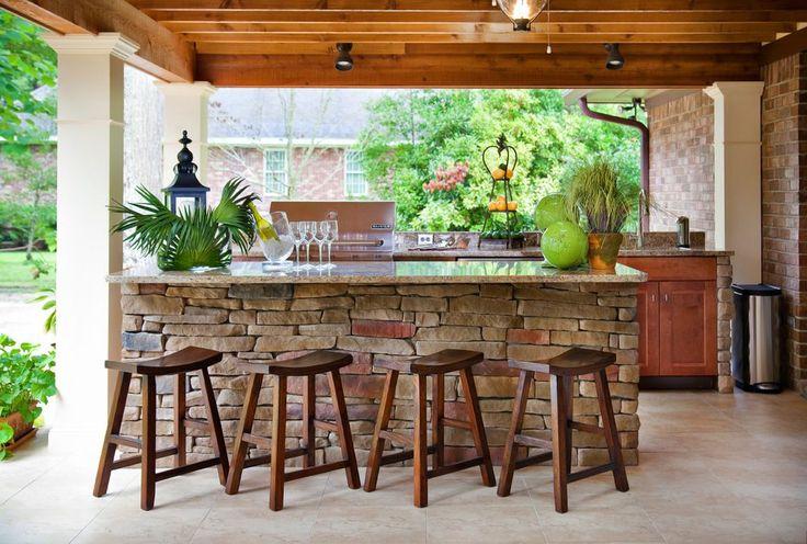 Outdoor-Bar-Ideen und tolle Designideen für Decks   – Best Inspiration Ideas