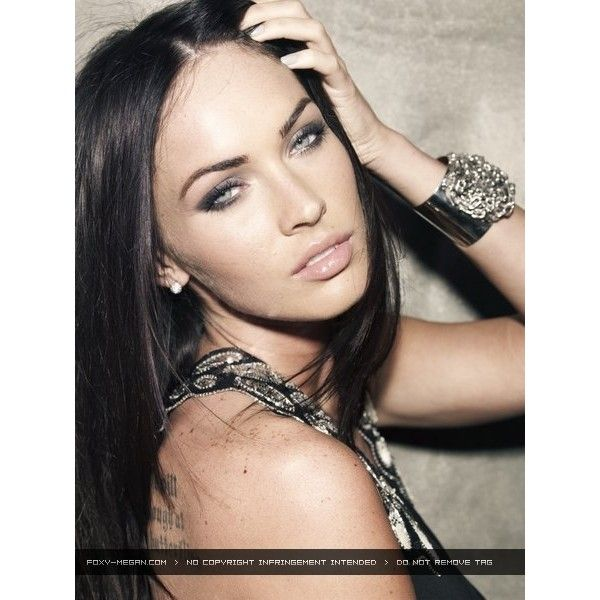 Megan Fox Photo-Shoot In Cosmopolitan | Pop Dynamite ❤ liked on Polyvore