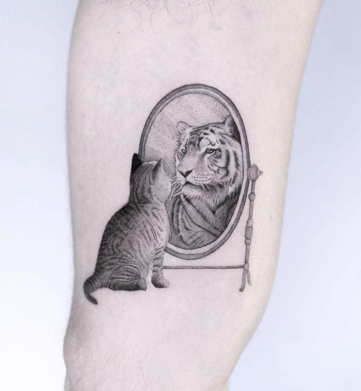 Small Mirror Tattoo: Impressive Hyper-Realistic Micro Tattoos By Celebrated