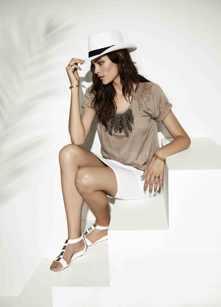 soyaconcept - top - blouse - skirt
