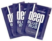 DōTERRA Deep Blue Rub for tense, sore or tight muscles and joints!  Www.mydoterra.com/goodmanamber
