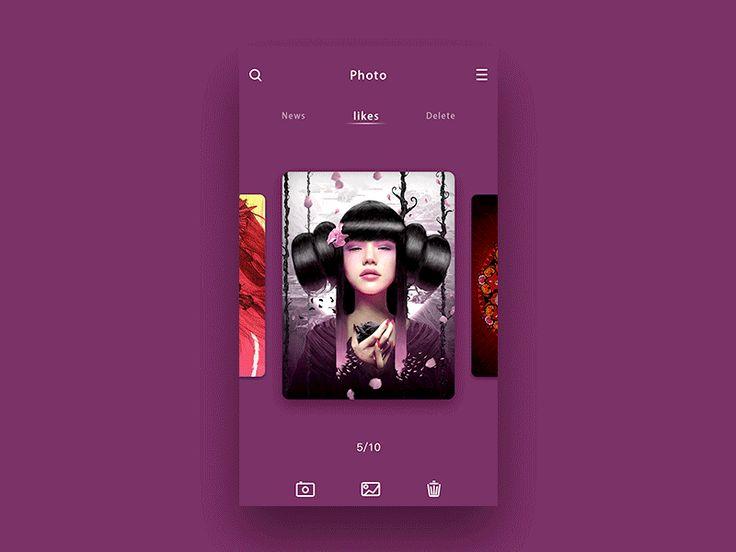 Transition by Itsuki #ui #design #app
