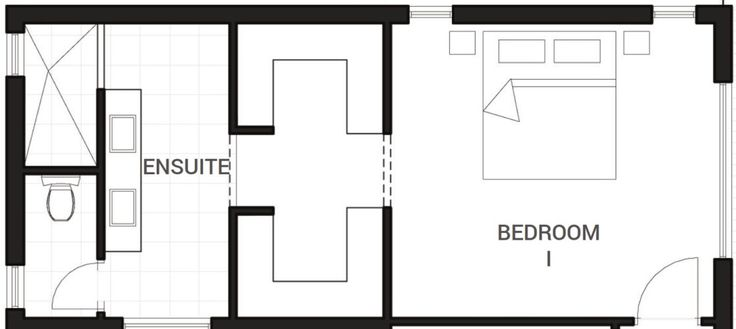 Made a whole board just to pin this bedroom / walk in wardrobe / en-suite plan!