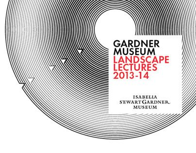 """Check out this @Behance project: """"Gardner Museum Landscape Lectures 2013-14"""" https://www.behance.net/gallery/10717643/Gardner-Museum-Landscape-Lectures-2013-14"""