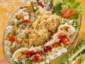 Zöldséges rizssaláta és kuszkuszsaláta recept