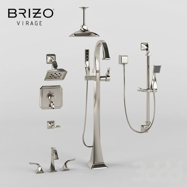 Brizo Virage - this is a faucet family they love but we may need to get something a bit more budget friendly.  need suggestions