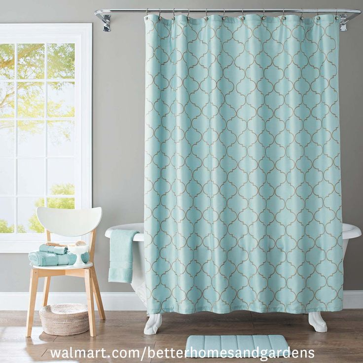 Hunter Green Fabric Shower Curtain   Having A Retro Shower Curtain Will  Bring Pleasure To Your Home.