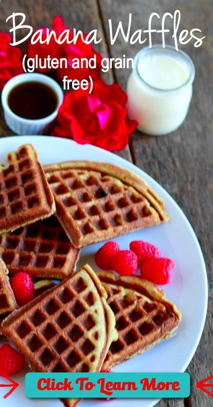 #FastestWayToLoseWeight by EATING, Click to learn more, Grain Free Banana Waffles - savorylotus.com grainfree, glutenfree -coconut flour for flour and banana for sweetener , #HealthyRecipes, #FitnessRecipes, #BurnFatRecipes, #WeightLossRecipes, #WeightLossDiets