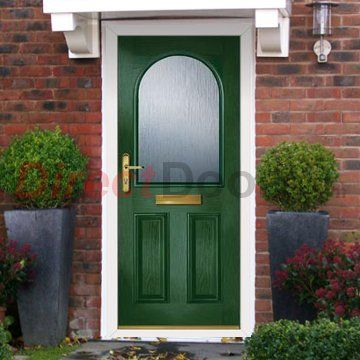 Lifestyle Image Of External Simplicity Claston Plain Composite Door Shown In Meadow Green & Eiger Freezer Doors u0026 Thumbnail11 Thumbnail12 Thumbnail13 ... pezcame.com