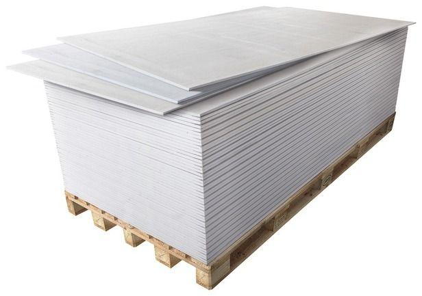 Chantier n°2 - Je pose mes plaques de plâtre // Plaque de Plâtre en BA13 NF.  Dim. : 2,50 x 1,20 m