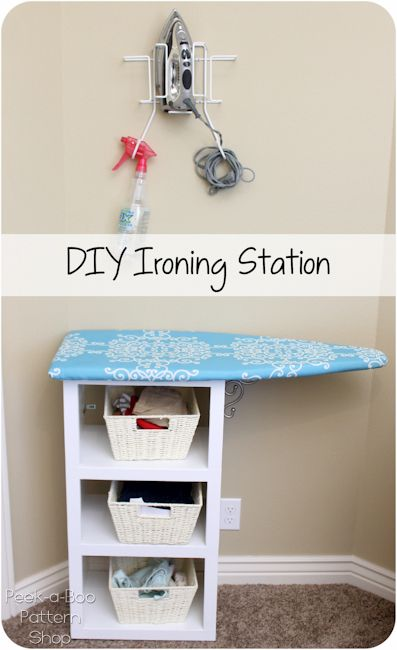 Today I'm sharing a tutorial for the DIY Ironing Station my husband made for me. If you sew frequently you really need one of these Want to see the rest of my studio? Take the full tour here Now back to this beauty… Pressing is an essential step in sewing and I used to HATE …