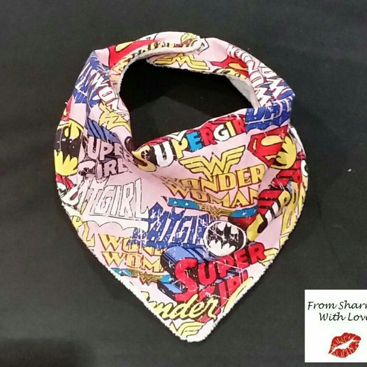 My latest bandana bib is now available!
